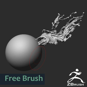 ZBrush Dynamic Water Brush