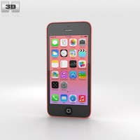 3d apple 5c iphone model