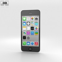 apple 5c iphone 3d model