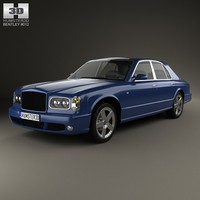 bentley arnage t 3d c4d