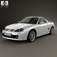 3d model mg tf 2002