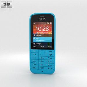 nokia 220 3d model