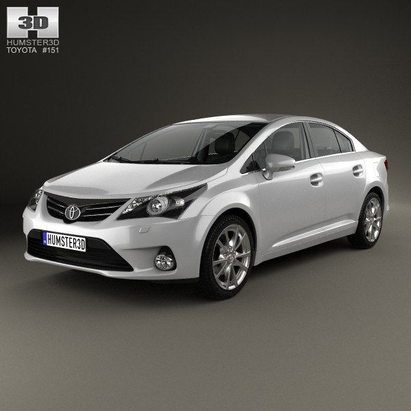 toyota avensis hq 3ds