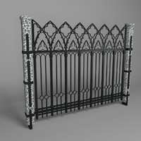 3d fence forged