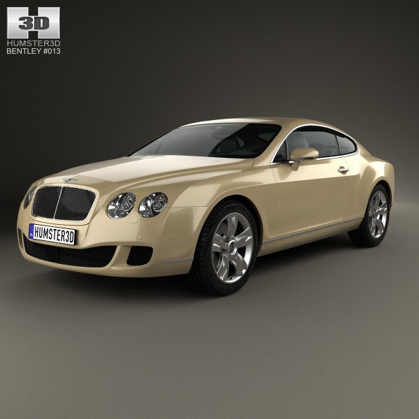 3d bentley continental gt