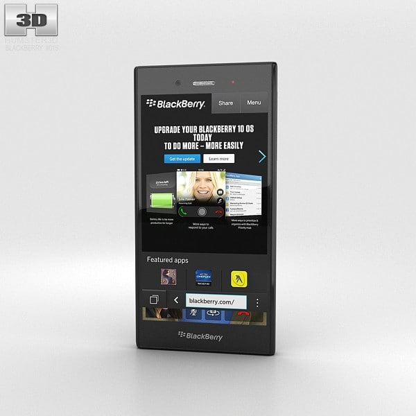 3d c4d blackberry z3