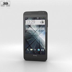3d model htc desire 610