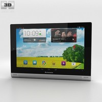3d model lenovo tab tablet