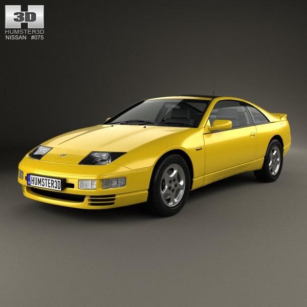 300zx Turbo Shiro Special: 3d Max Nissan 300zx 300