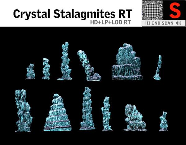 crystal stalagmites rt ma