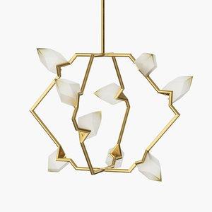 3d seed 01 chandelier bec model