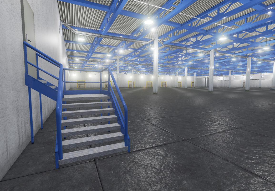 3d warehouse security camera