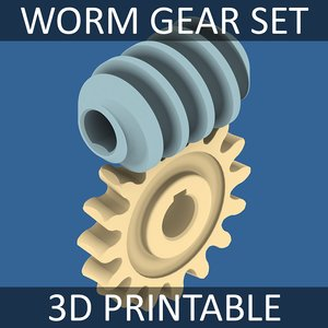3ds worm gear 01