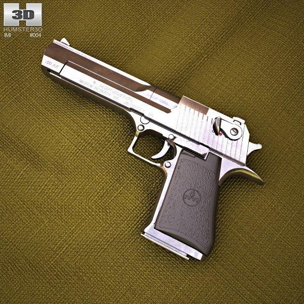 3d model desert eagle imi