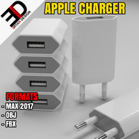 3d apple charger model