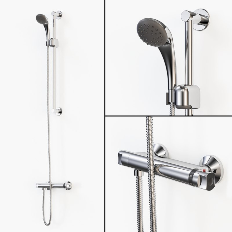 thermostatic shower mixer max