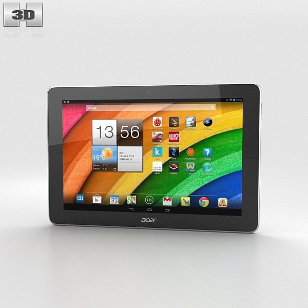 3d model acer iconia tab
