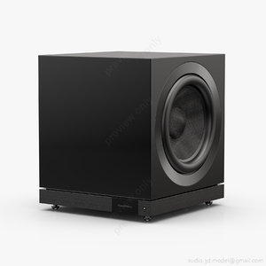 subwoofer bowers wilkins db1d obj