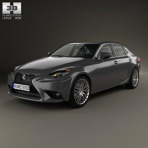 lexus xe30 2013 3d model