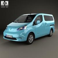 Nissan e-NV200 Evalia 2014