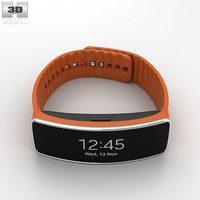 3d samsung gear fit model