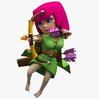 3dmodel archer max