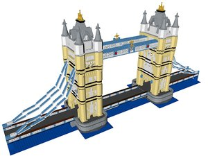 lego tower bridge 3ds