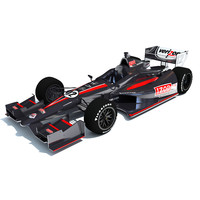 3d izod indycar race car