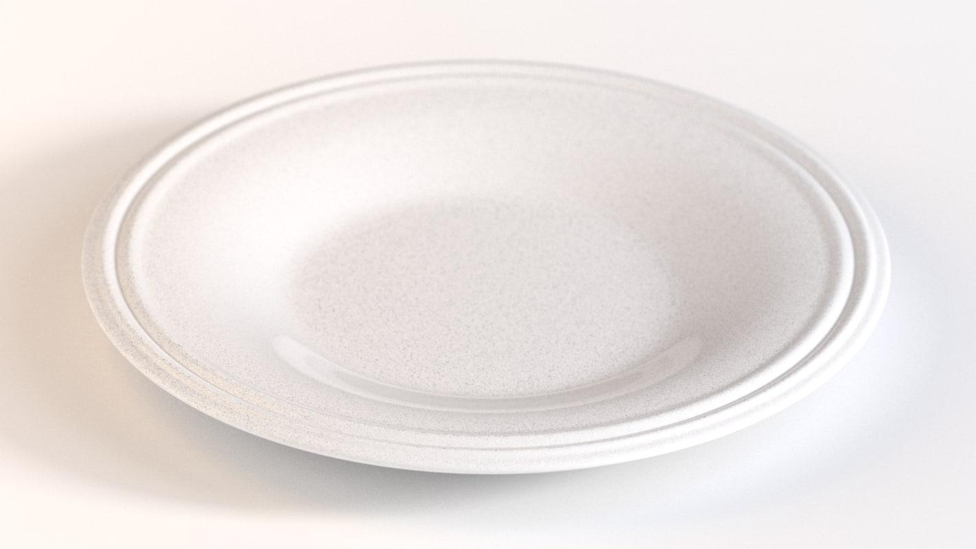 3d plate rings model