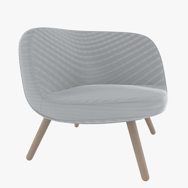 3d lounge chair model