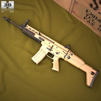 fn l scar 3d model