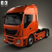 3d iveco stralis tractor model