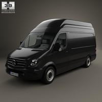 3d mercedes-benz sprinter panel