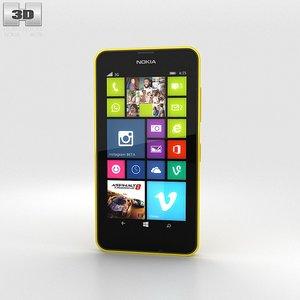 3d nokia lumia 630