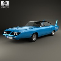 3d model plymouth road runner