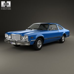 3d plymouth volare 1977