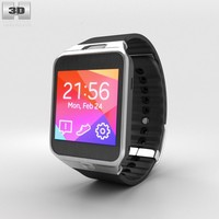 3d samsung galaxy gear model