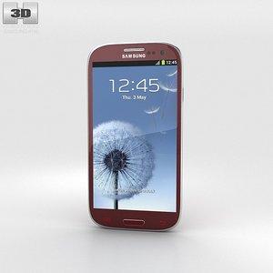 samsung galaxy s3 3d model