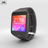 3d samsung gear 2 model