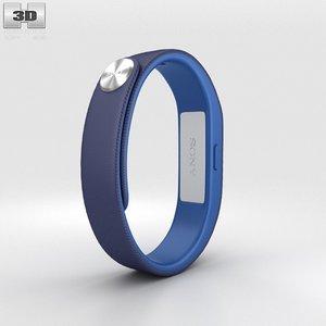 sony smart band 3d model