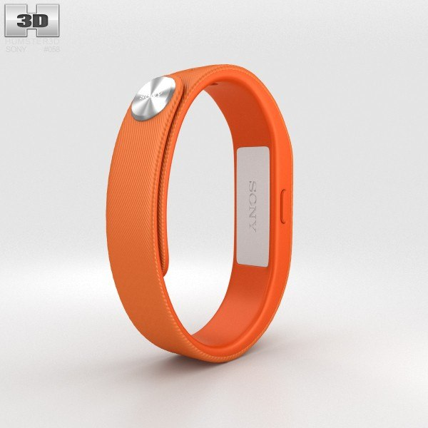 3d sony smart band