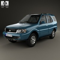 tata safari 2009 3d max
