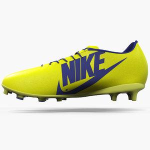 3d model football shoe