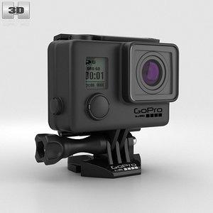 3d gopro hero3 blackout model