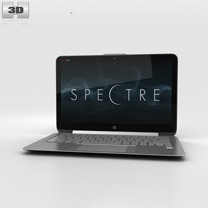 hp spectre ultrabook 3d max