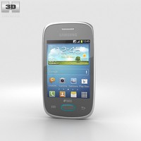samsung galaxy pocket 3d model