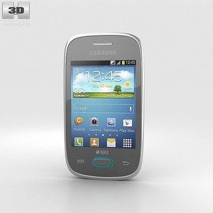 samsung galaxy pocket 3d model