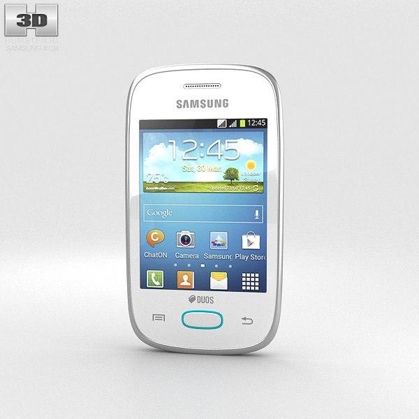 3d samsung galaxy pocket model
