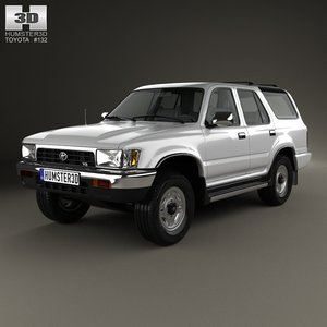 3d model toyota 4runner runner