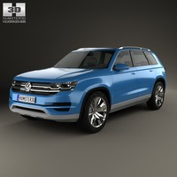 volkswagen crossblue cross 3ds